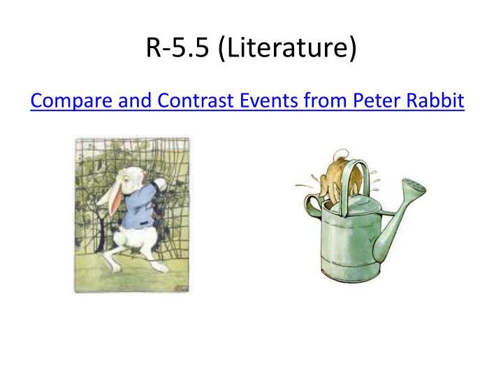 R-5.5 (Literature)