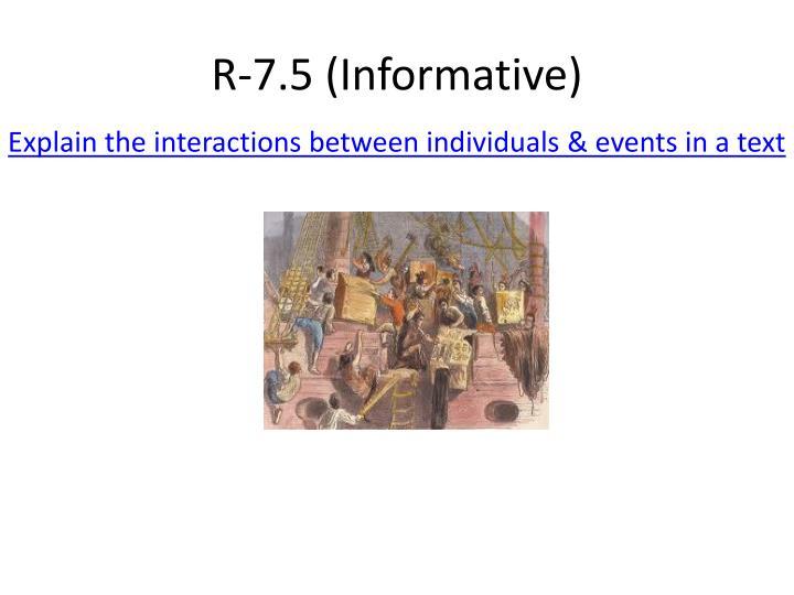 R-7.5 (Informative)
