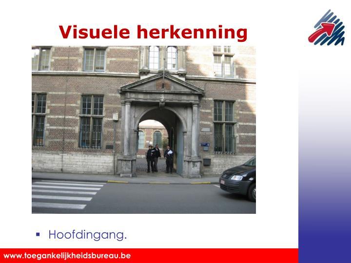 Visuele herkenning