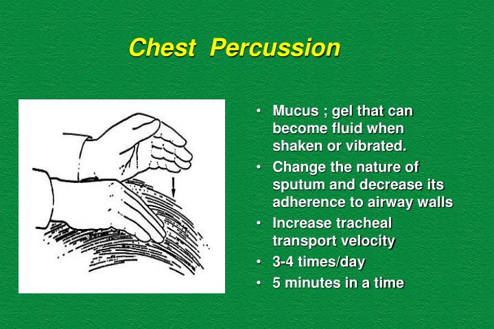 Chest  Percussion