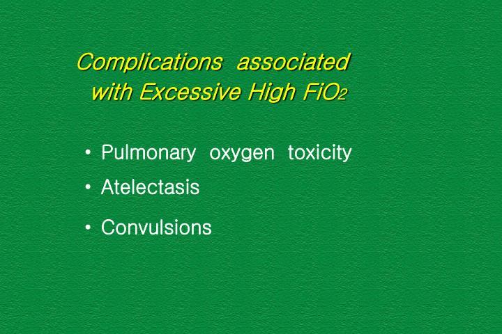 Complications  associated