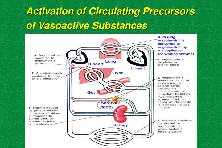 Activation of Circulating Precursors