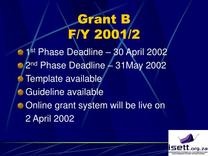 Grant B