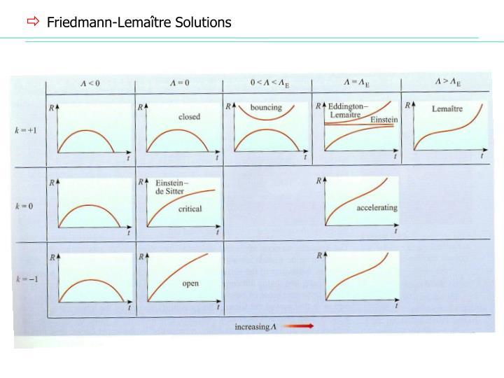 Friedmann-Lema