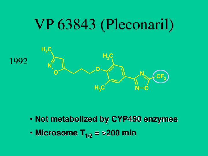 VP 63843 (Pleconaril)