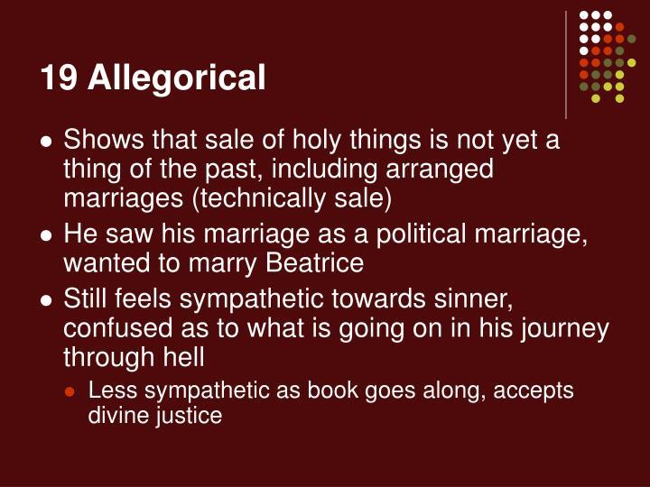 19 Allegorical