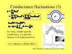 conductance fluctuations 3