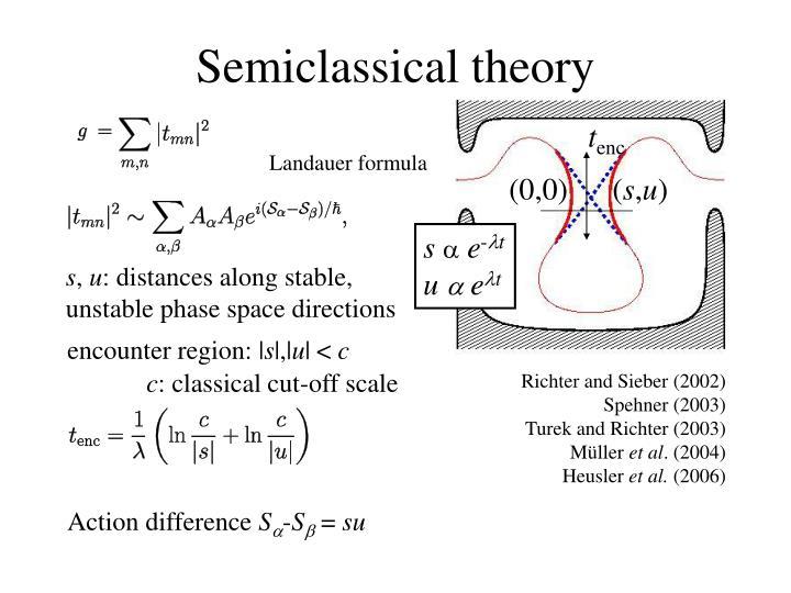 Semiclassical theory