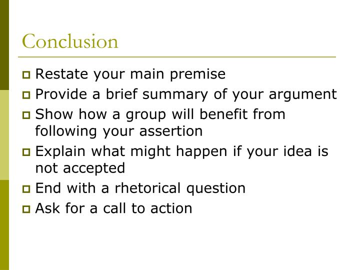concession assertion thesis