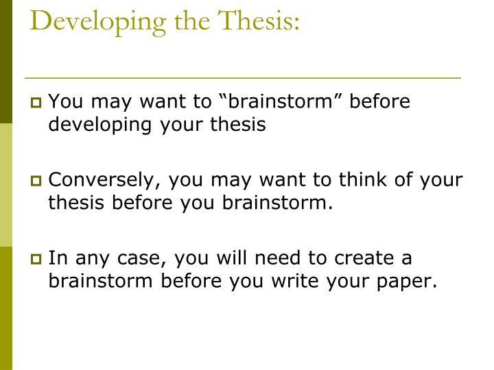 define thesis statement you create one How to write a thesis statement whether you're writing a short essay or a doctoral dissertation, your thesis statement can be one of the trickiest sentences to.