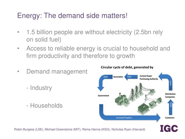 Energy: The demand side matters!