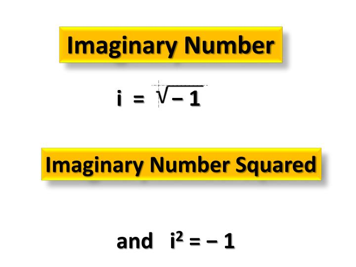 Imaginary Number