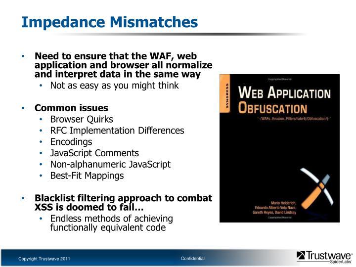 Impedance Mismatches