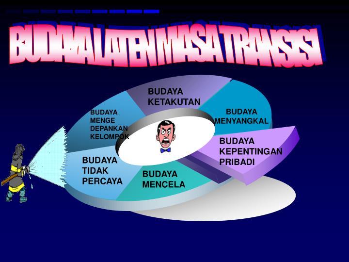 BUDAYA LATEN MASA TRANSISI
