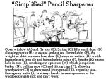 simplified pencil sharpener
