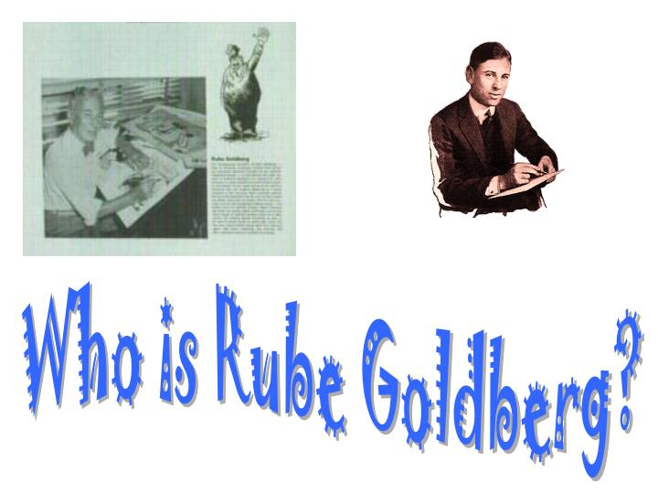 Rube Goldberg, 1923,