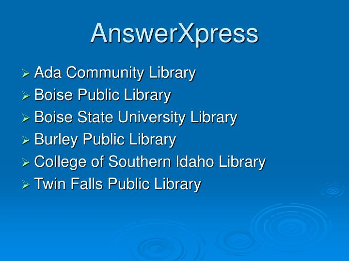 AnswerXpress