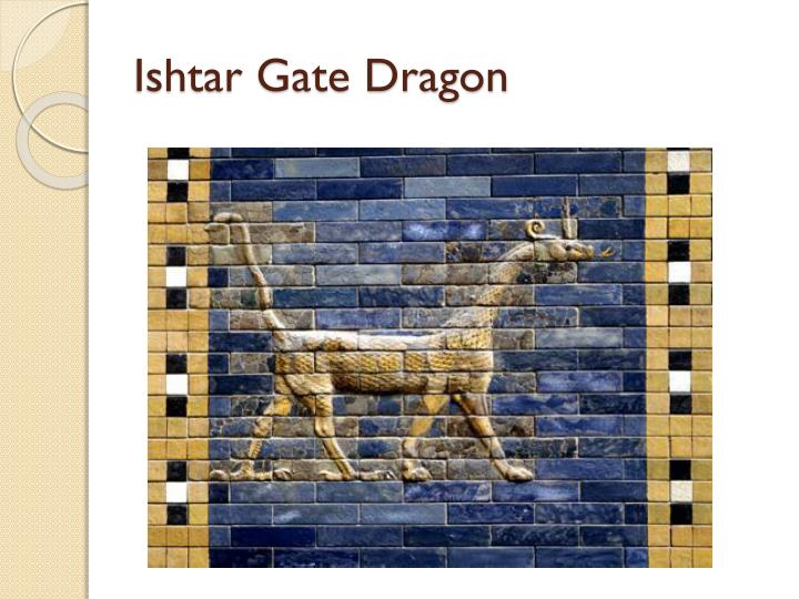 Ishtar Gate Dragon