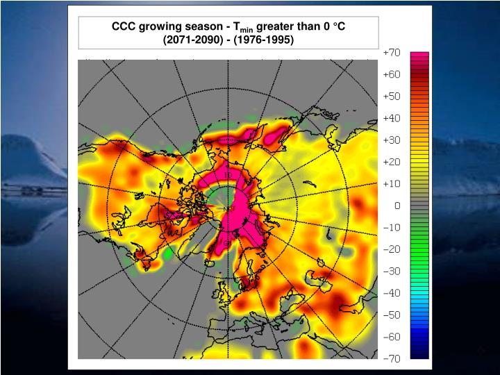 CCC growing season - T