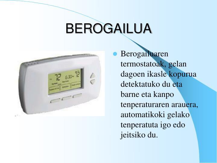 BEROGAILUA