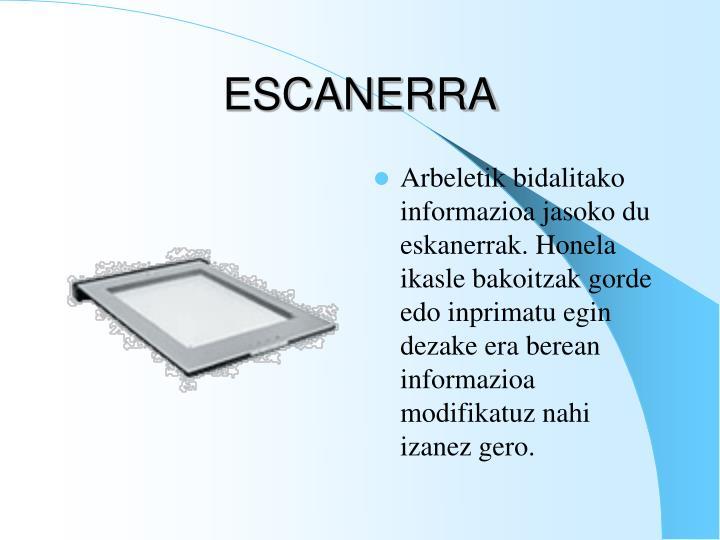 ESCANERRA