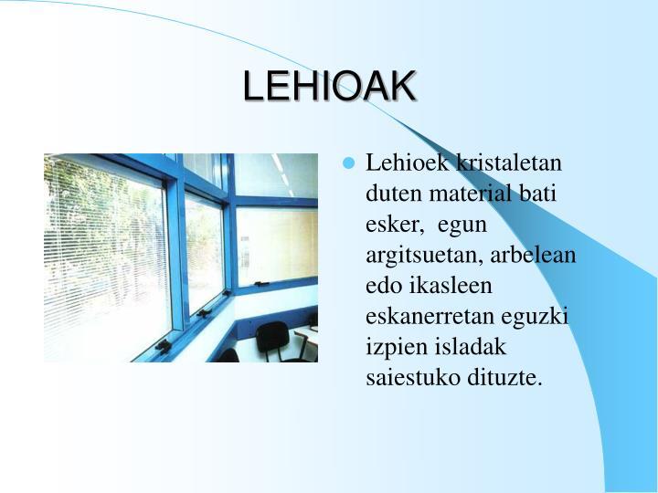 LEHIOAK
