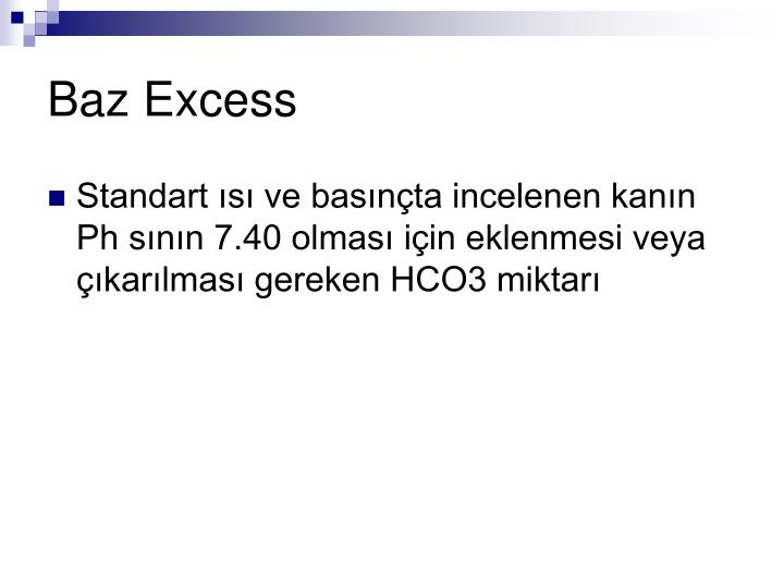 Baz Excess