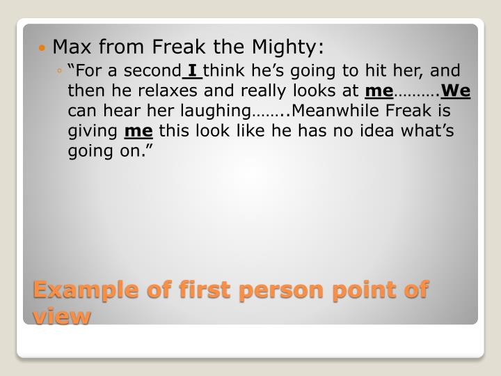 Max from Freak the Mighty: