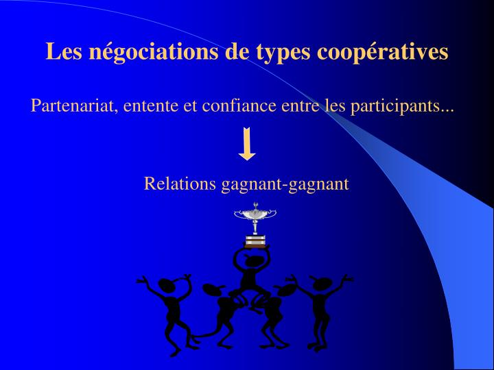 Relations gagnant-gagnant
