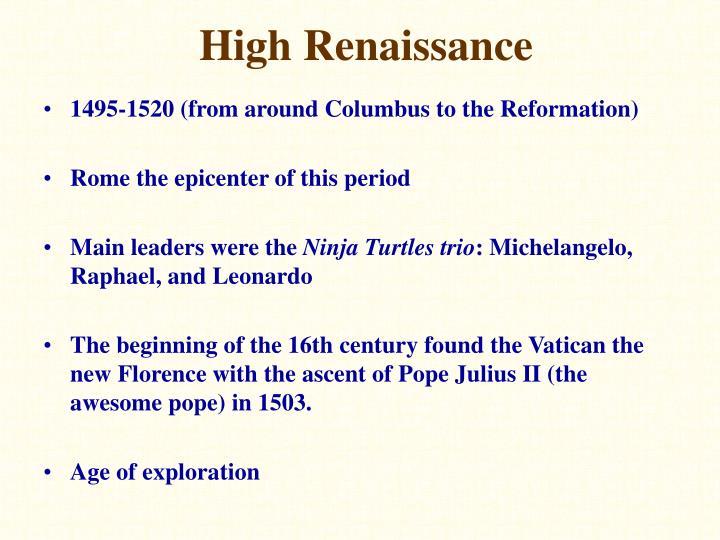 High Renaissance