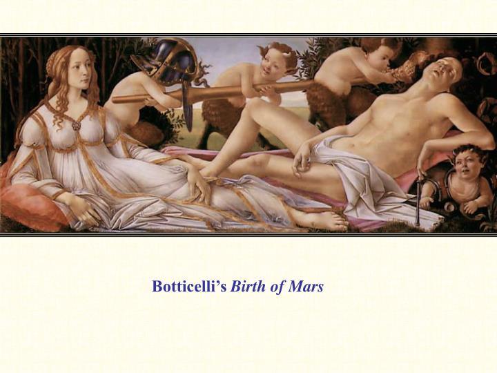 Botticelli's