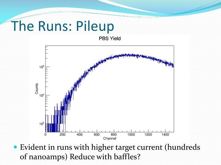 The Runs: Pileup