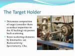 the target holder1