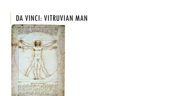 Da Vinci: Vitruvian Man