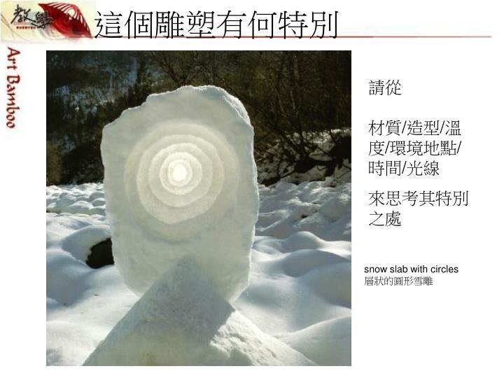 這個雕塑有何特別