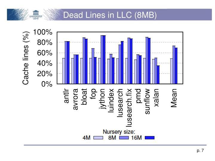 Dead Lines in LLC (8MB)