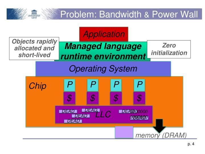 Problem: Bandwidth