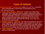types of epilepsy1