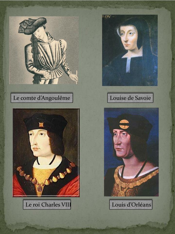 Le comte d'Angoulême