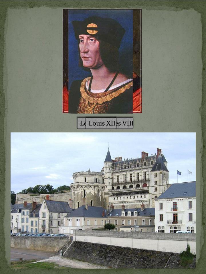 Le roi Charles VIII