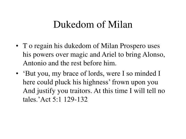 Dukedom of Milan