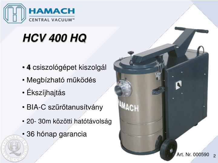 HCV 400 HQ