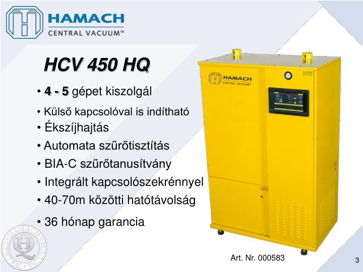HCV 450 HQ