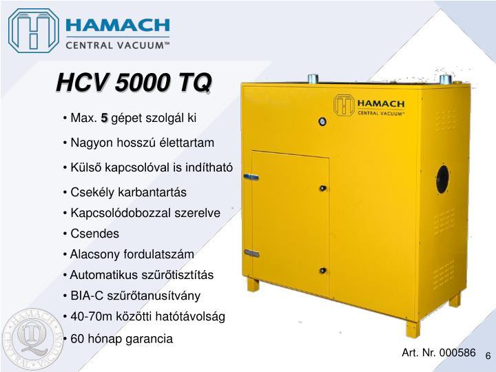 HCV 5000 TQ