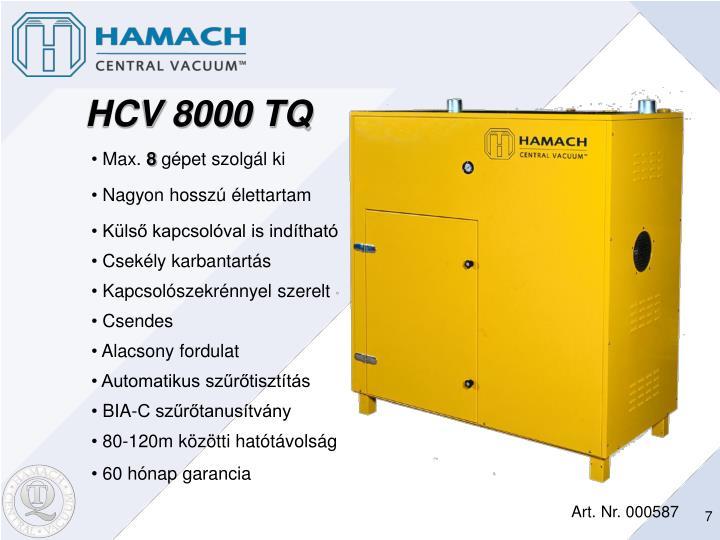 HCV 8000 TQ