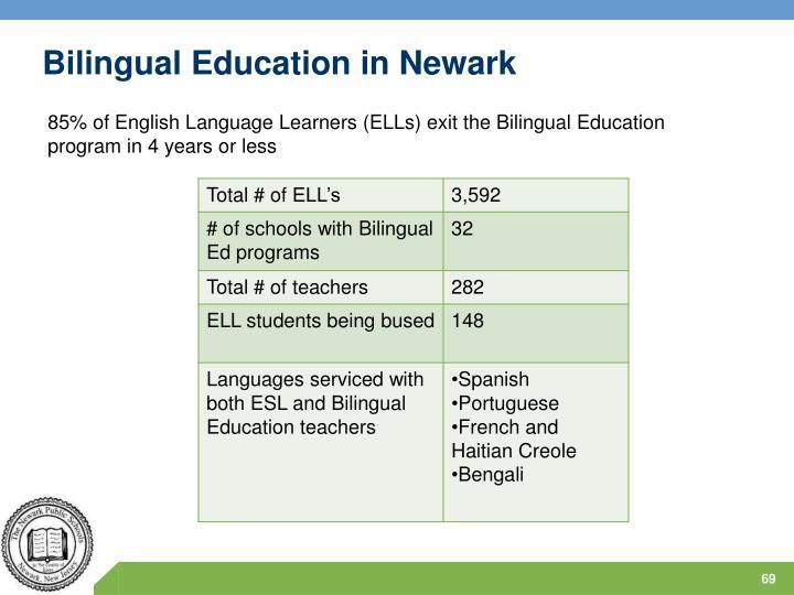 Bilingual Education in Newark