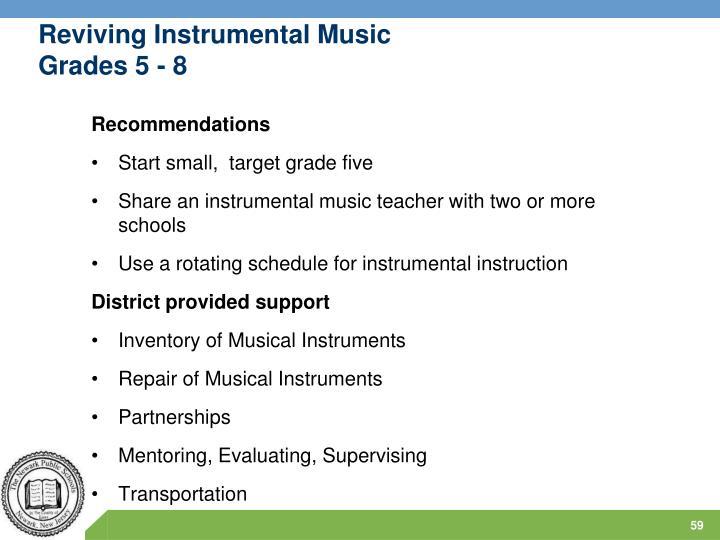 Reviving Instrumental Music
