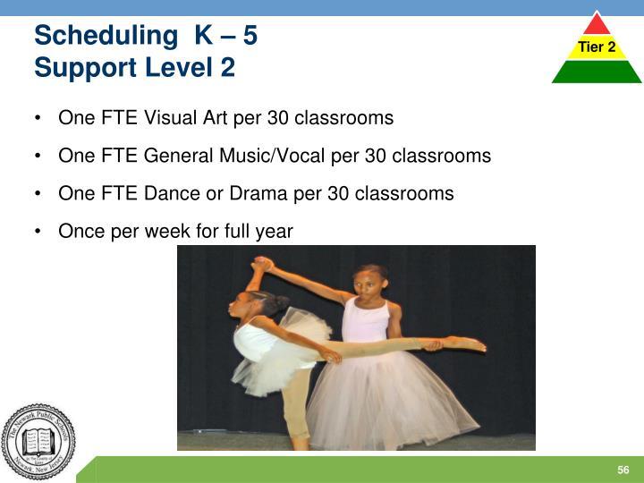 Scheduling  K – 5