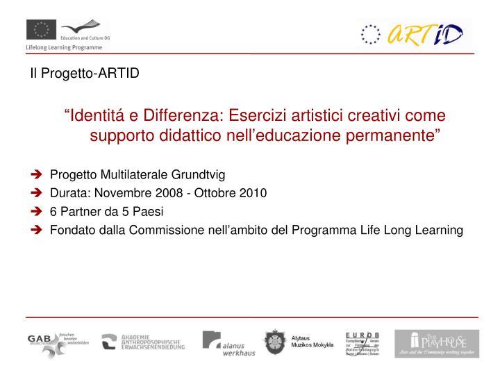 Il Progetto-ARTID