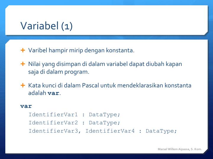 Variabel (1)